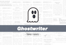 ghostwriter fakenews