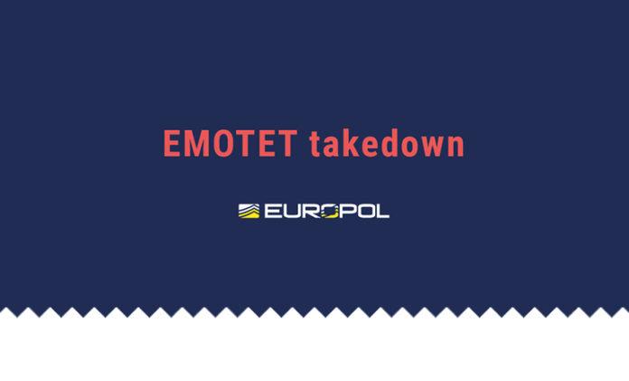 emotet down